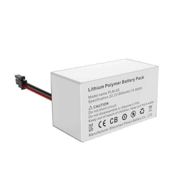Factory price UL approved 22.2v 900mah analysis device X-ray battery pack Featured Image