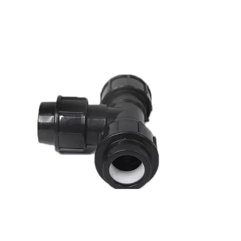 PP compression fittings black color