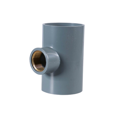 PN10 DIN standard pvc cement (glue) type fittings
