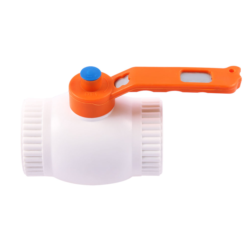 White color ppr ball valve