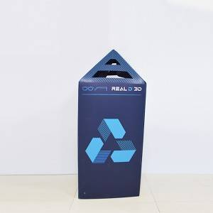 pp hollow sheet advertising box