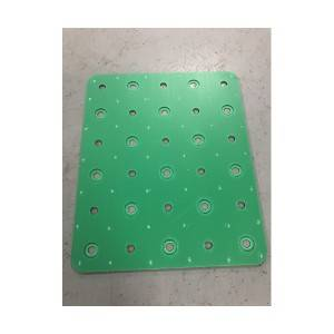 pp hollow sheet silk spins layer pad