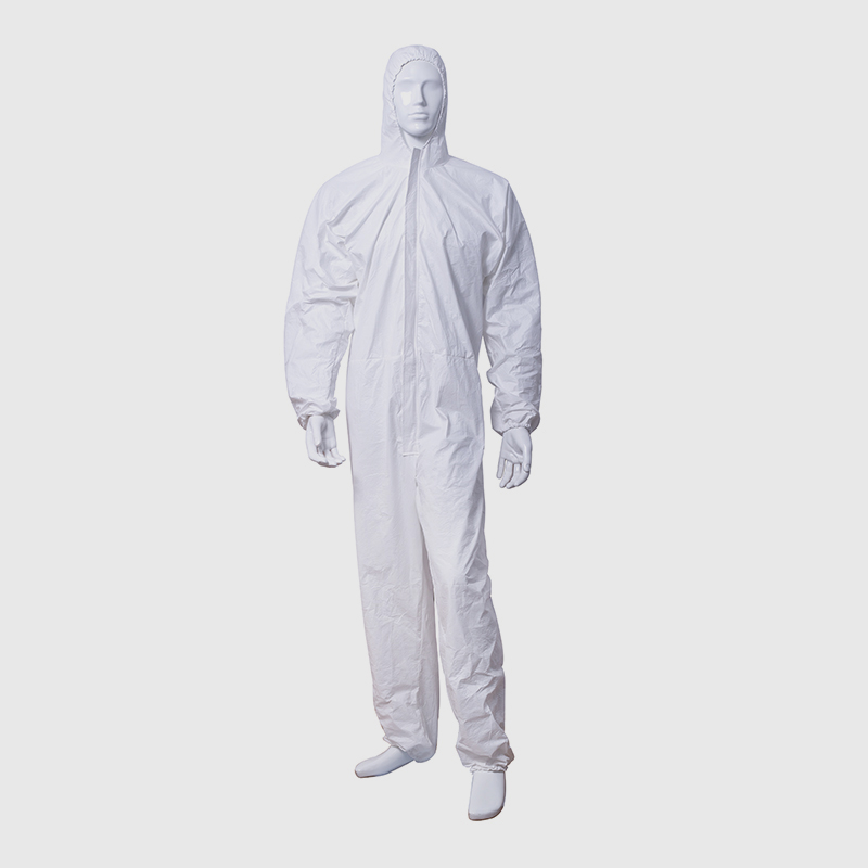 Disposable one-piece isolation gown Featured Image