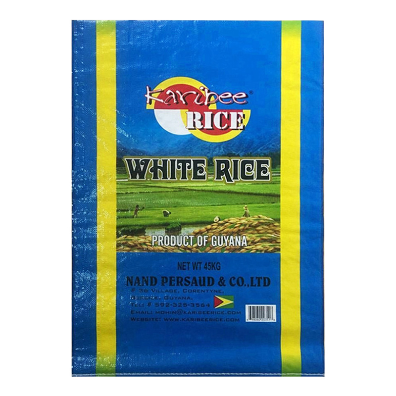 Laminated Poly Woven Rice bag