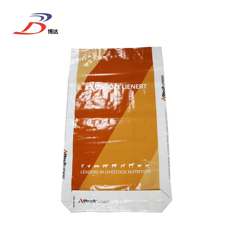 Industrial BOPP laminated back seam bag