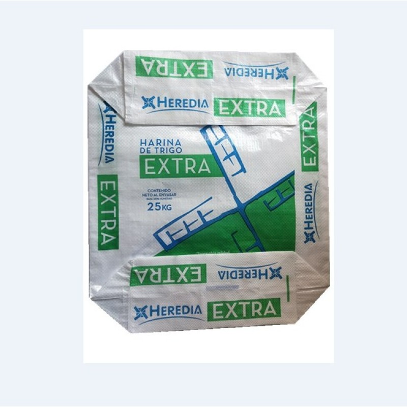 Food Grade Block Bottom Valve Flour PP Bag