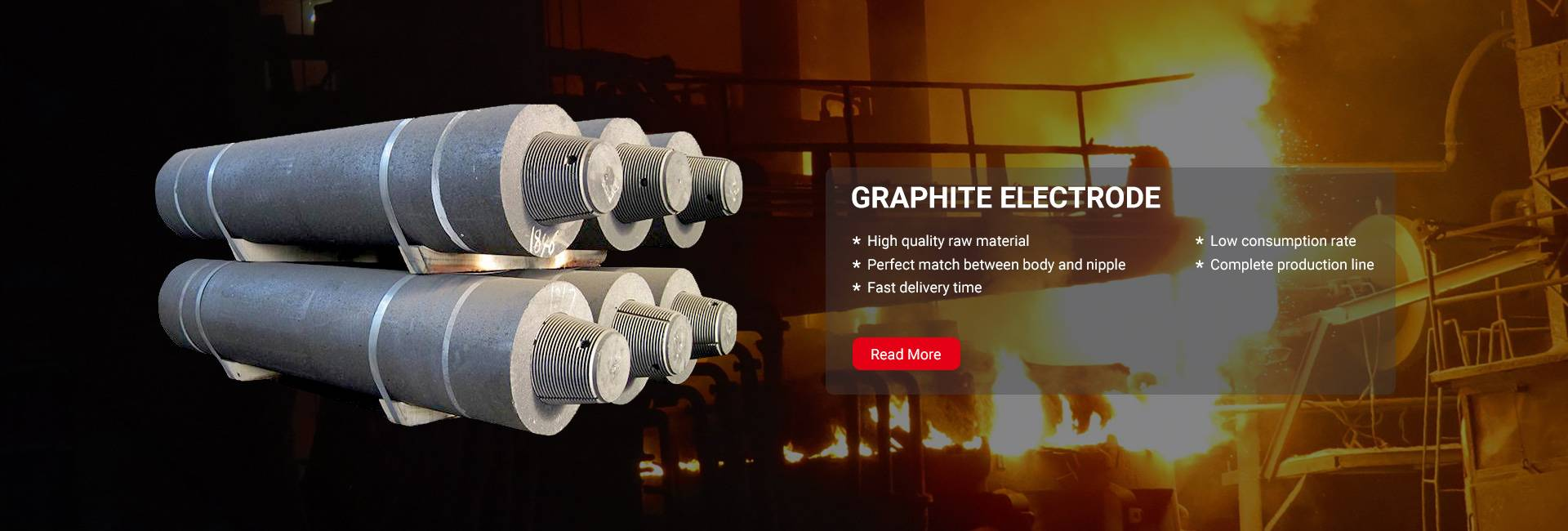 Graphite Electrode With Ultra High Power