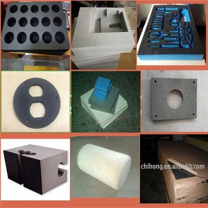 Customized shaped foam