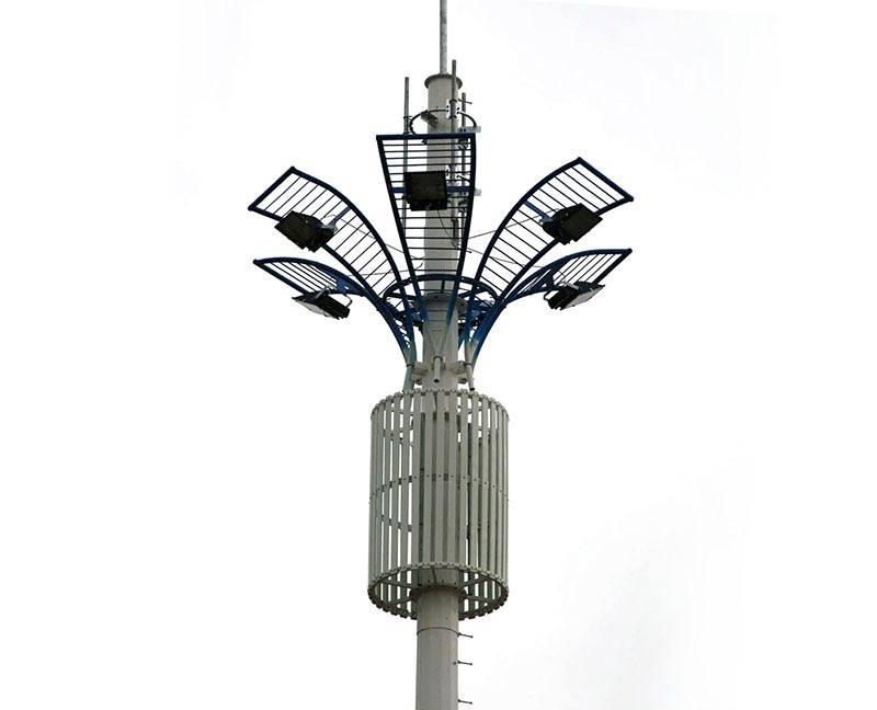 Electric angle steel tower