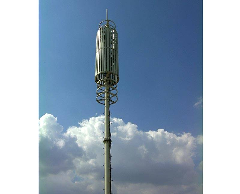 Communication landscape tower