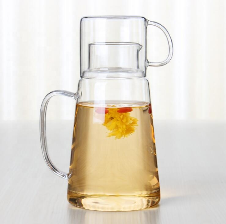 1.5L large capacity glass cold water tea pot