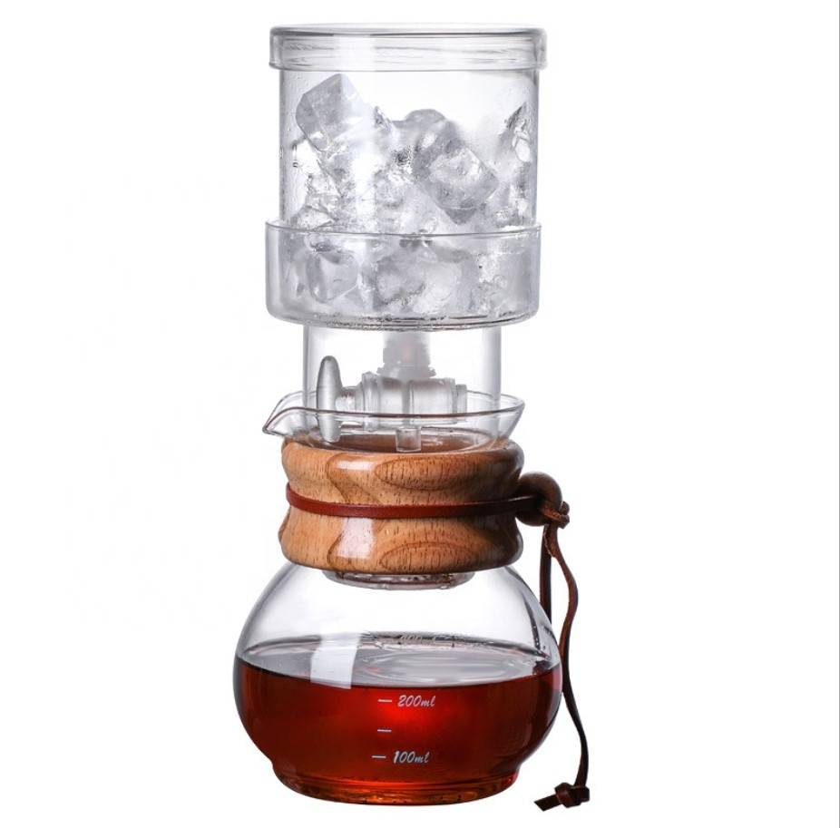 6-8 cups borosilicate glass cold brew coffee maker, iced coffee dripper