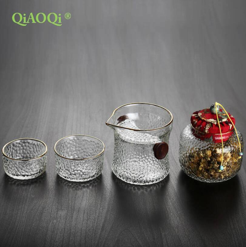 Eco friendly glass travel mug glass tea cup gift cup set