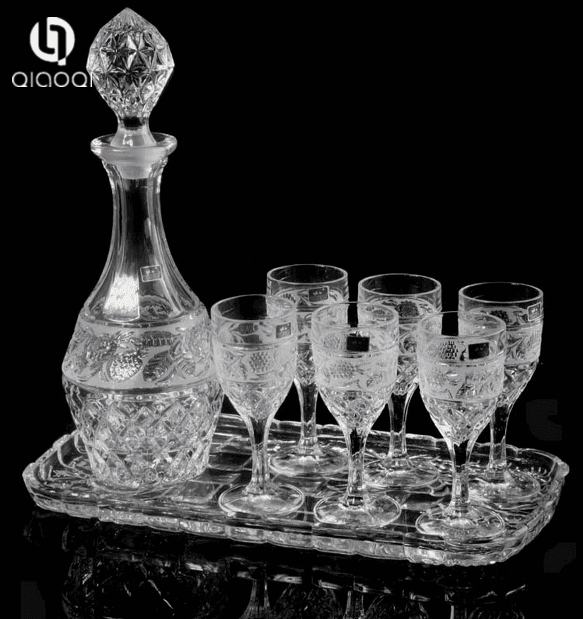 Bar Accessory Whiskey Decanter Set
