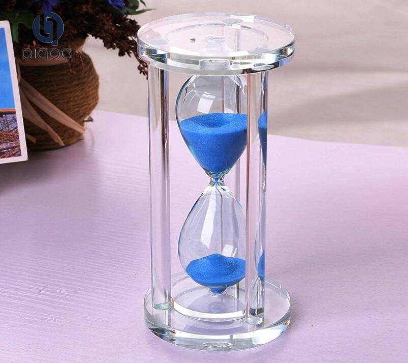 Colorful Crystal Craft Crystal Hourglass for Wedding Favor Gift
