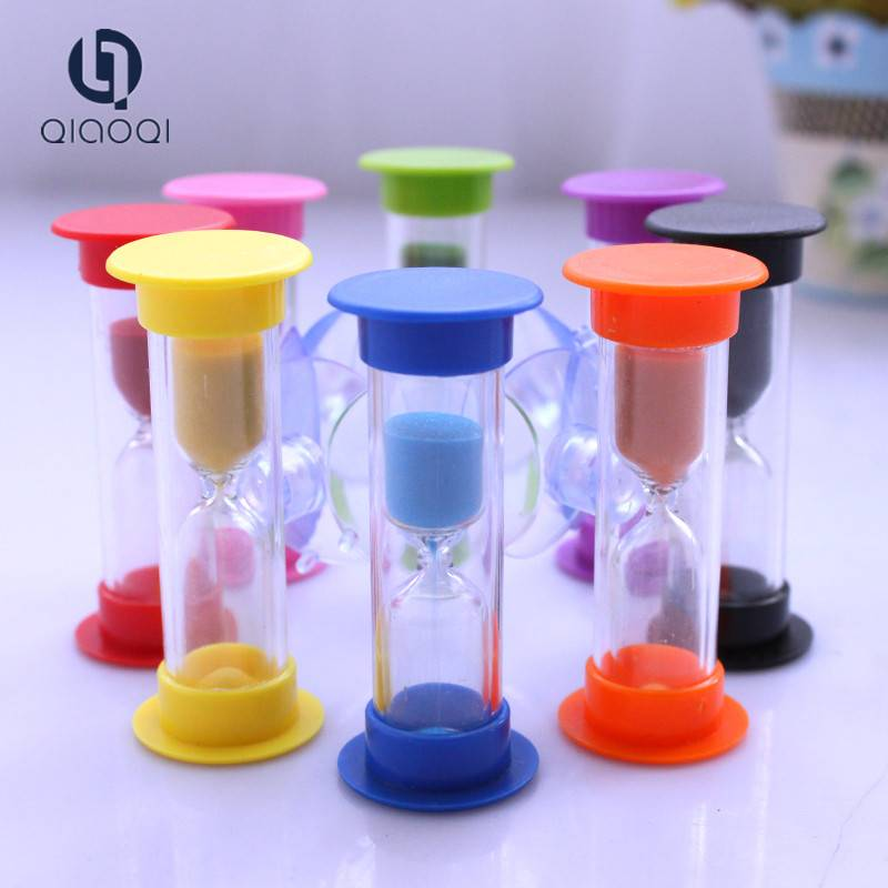 3 mins sand clock plastic shower timer with sucker sand timer/hourglass