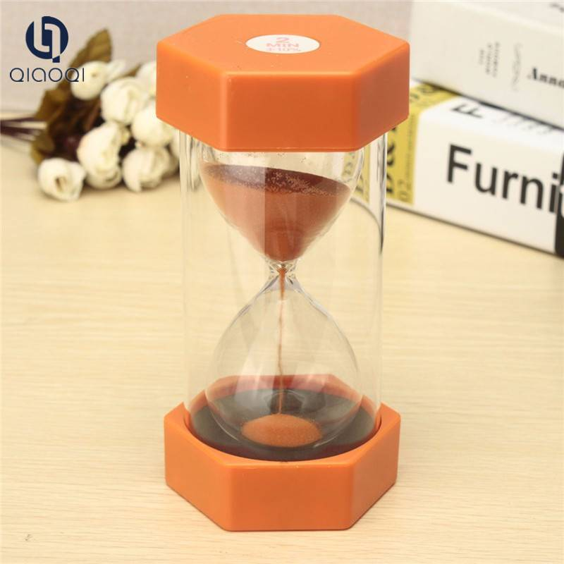 Fashionable Design Eco Friendly colorful sand glass timer