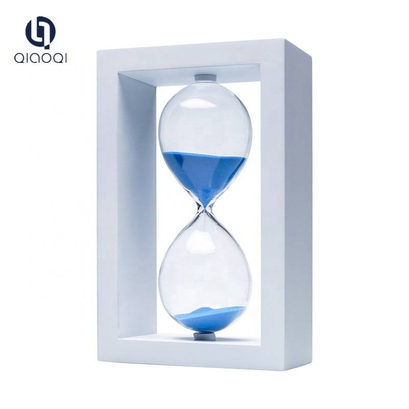 Factory customize wooden hourglass sand timer
