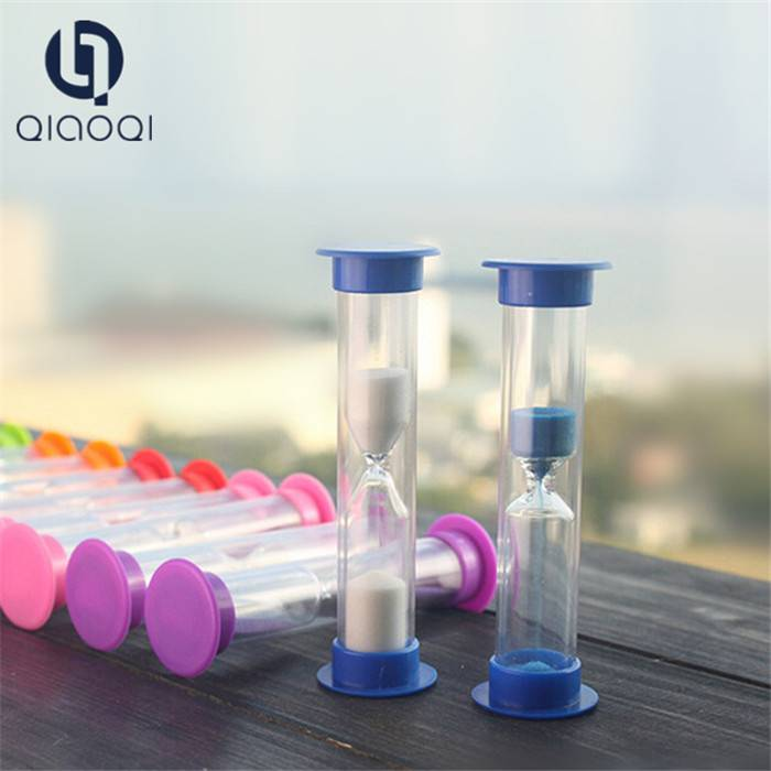 1 3 5mins customized plastic sand timer