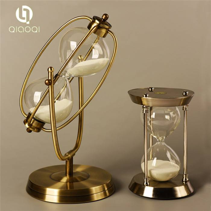 New Innovative Antique Metal 1 hour Hourglass Gifts