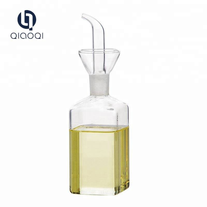 European style Borosilicate glass olive oil dispenser