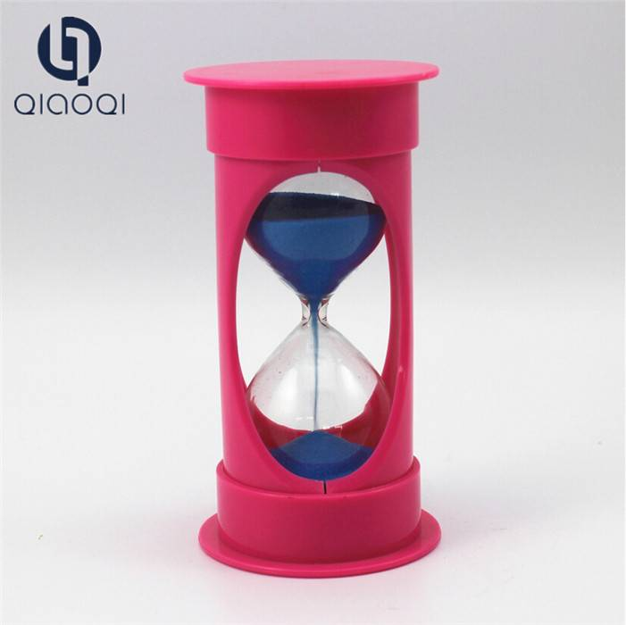 Large size plastic sand timer / hourglass 20 minutes