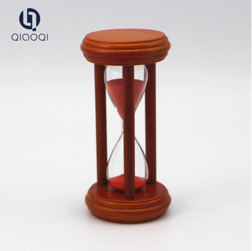 sandglass gifts wholesale Mini small wooden hourglass