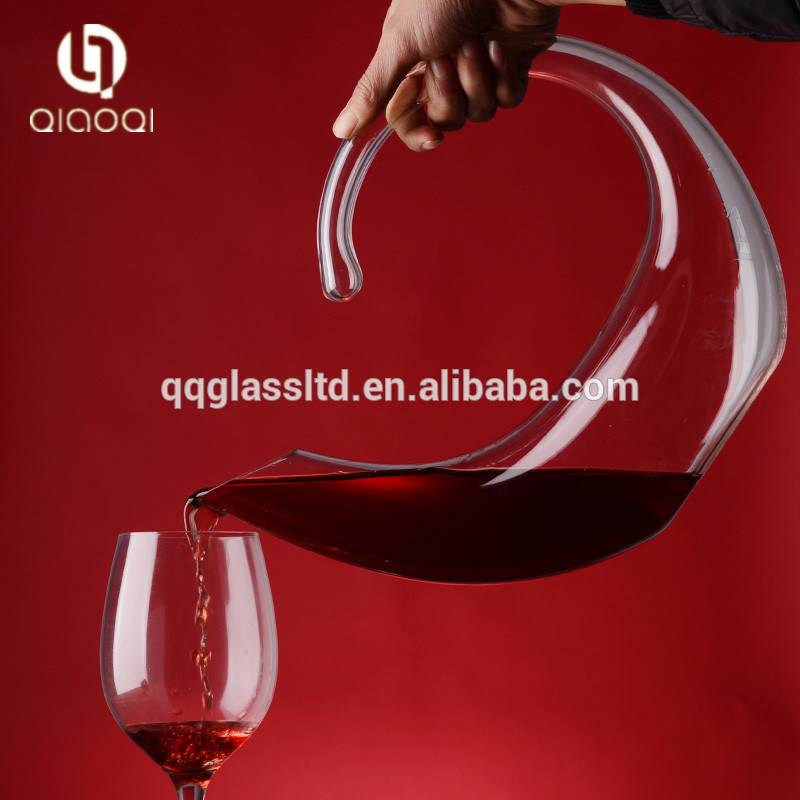 Factory price Color Art Aesthetic Glass Wine Decanter