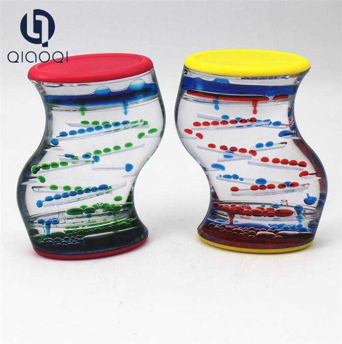 Decorative Kids Liquid Drip Oil Hourglass Sand Timer