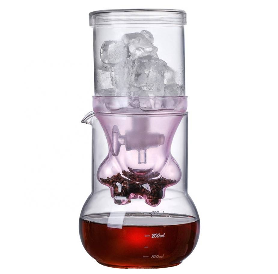 Hot Selling Perfect Gift Cat Paw Borosilicate Glass Cold Brew Coffee Maker Coffee Pot