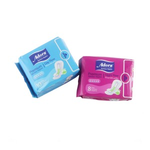 Anion chip super absorption day use sanitary napkin all size