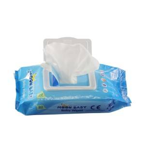 Wholesale flushable baby wipes best baby wipes for newborms water based baby wipes