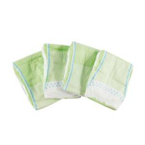 ECO BOOM Wholesale Bamboo biodegradable Disposable cute Infant Baby Diapers for sensitive skin