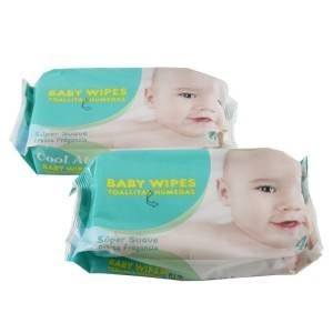 Low Price Non Alcohol Customize best smelling organic baby wipes suitable for newborn