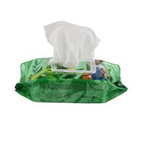 Custom Wet Wipes Dispenser Plastic Box Individually wrapped baby wet wipes