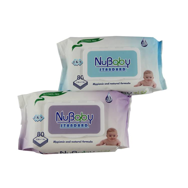 China manufacturer high quality hypoallergenic cleaning baby wipes bulk buy Featured Image