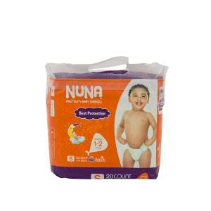 Cheap price non woven fabric soft breathable new printed cute disposable diaper
