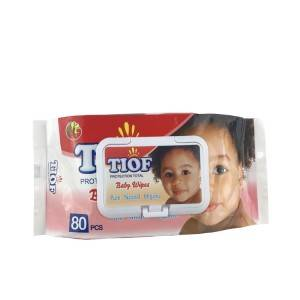 Wholesales ABC Cleaning 100 PCS Baby Wet Wipes