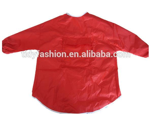 Full Sleeves Plastic Apron PVC Apron Kitchen Apron