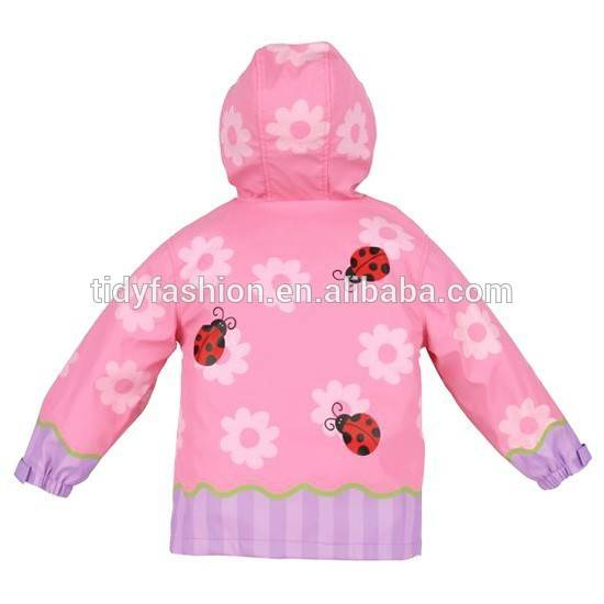 OEM Breathable Kids PU raincoat