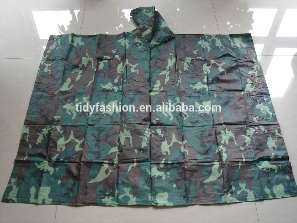 Camouflage Poncho Liner Military Poncho