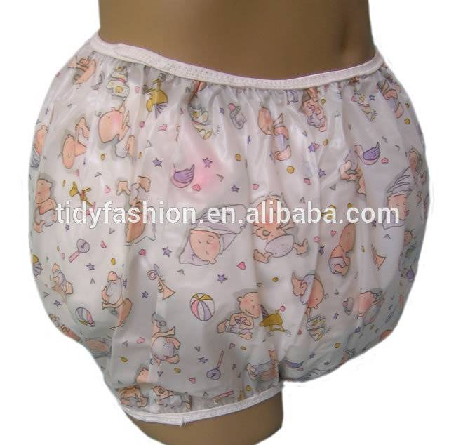 Top Quality Diaper Liners For Disposable Diapers - Custom Printing Adult Baby Diaper and Plastic Pants – Tidy