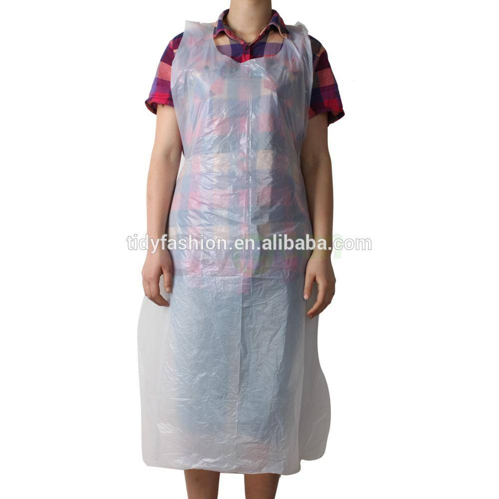 Long Disposable Plastic PE Apron