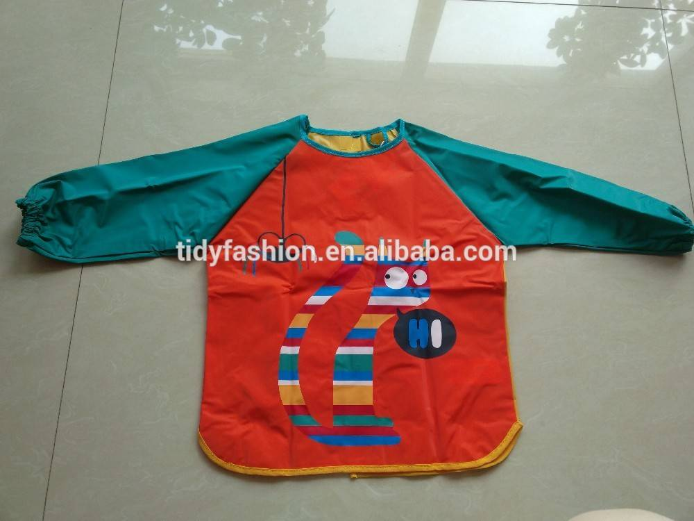 Waterproof PVC Painting Apron For Kids