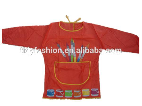 Customized Kids Promotional PVC Aprons For Painting