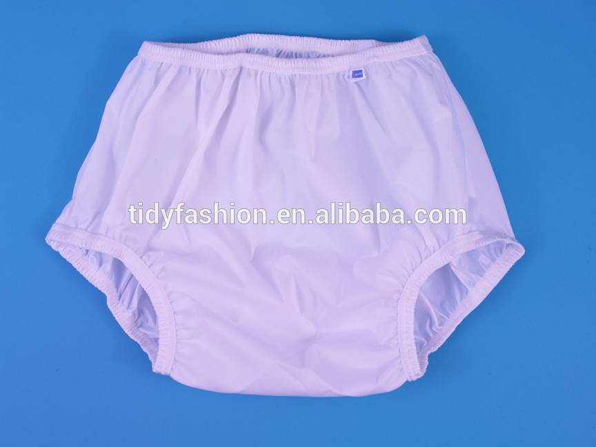 Waterproof Vinyl Adult Baby Diaper Plastic Pants
