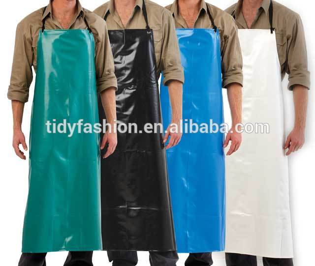 Logo Available Durable Industrial Mens PVC Apron