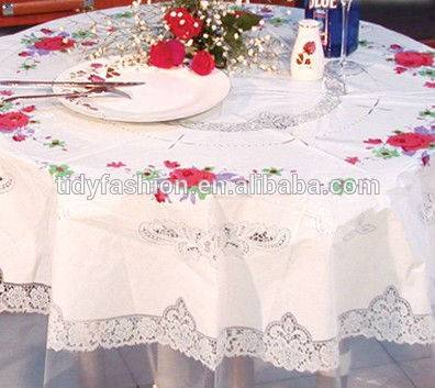Cheap Wholesale Vinyl PVC Tablecloth