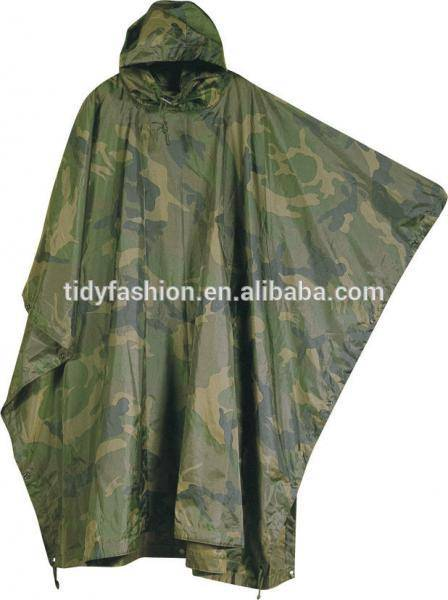 Military Uniform Army Camouflage Military Raincoat