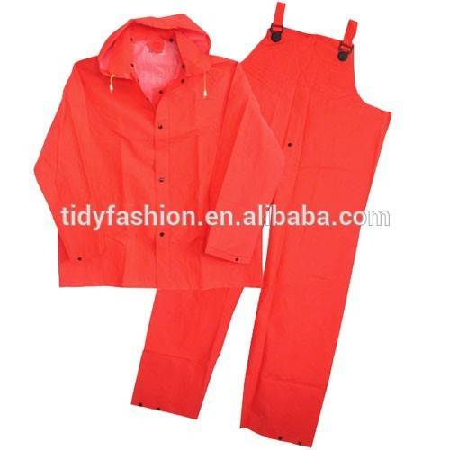 Durable Safety Men Suit With Bib Pant